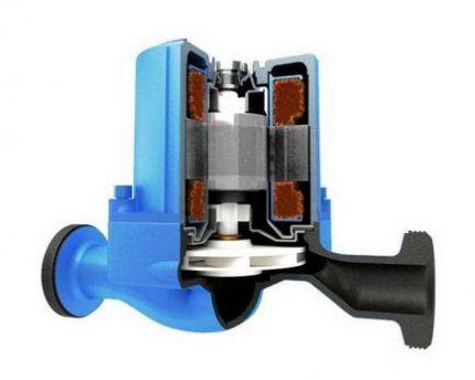 Dry rotor device design