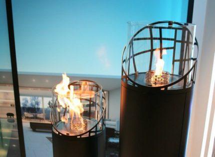 Decor option fireplace