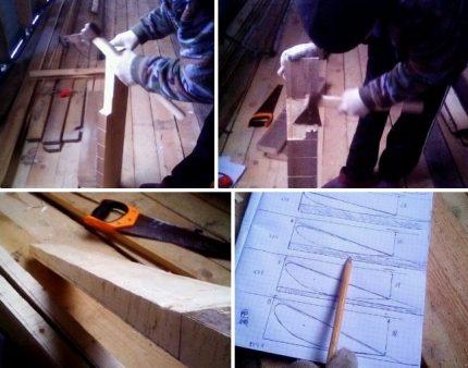 Pagaminus medinį peiliuką