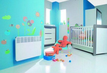 Heating convectors for children