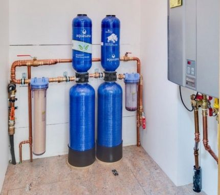 Filtres de purification d'eau