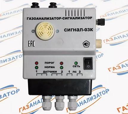 Polytechform-M - multichannel gas analyzer