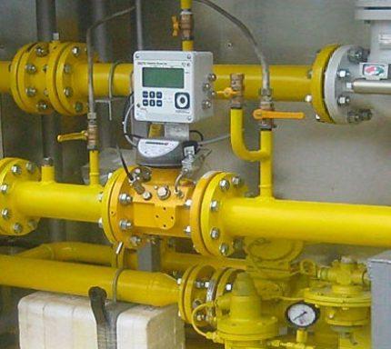 Compteur de gaz à turbine