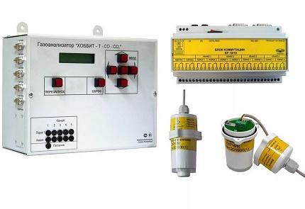 Hobbit-T gas analyzer
