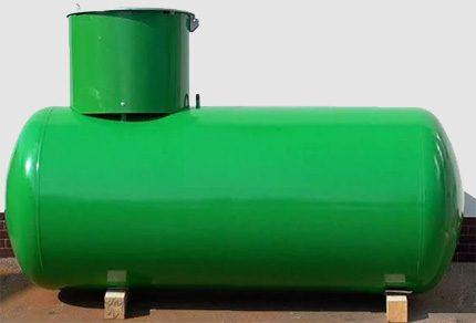 Household gas holder
