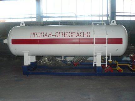 L'utilisation de propane-butane