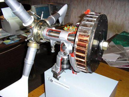 Generatorius vėjo malūnui