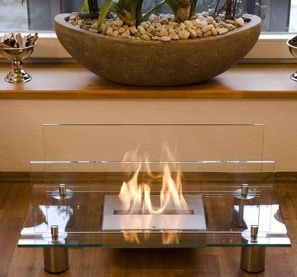 Effectively designed bio fireplace