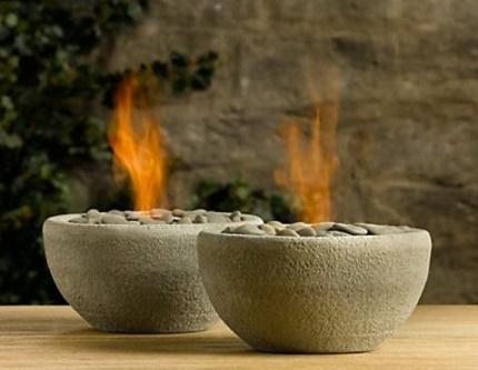 Table bio fireplace