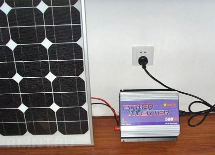 Inverter for mini solar station
