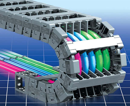 Flexible cable channel