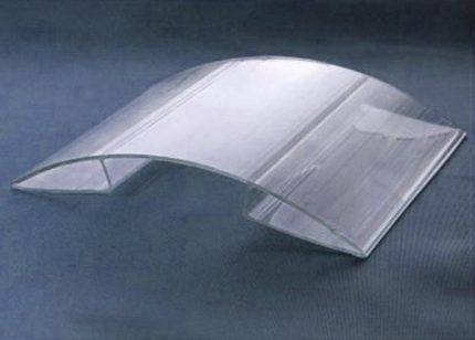 Polycarbonate cover for masking pipes
