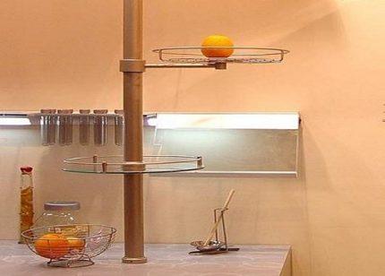 Vertical railing system