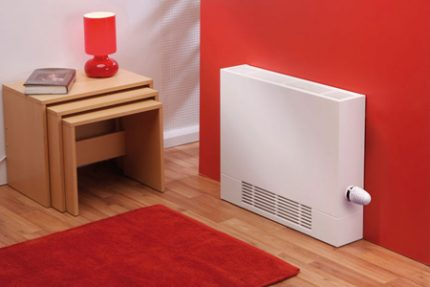 Convector with mechanical control