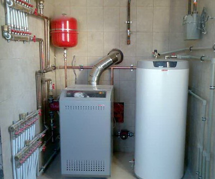 Single-circuit boiler