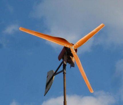 Horizontalus vėjo generatorius