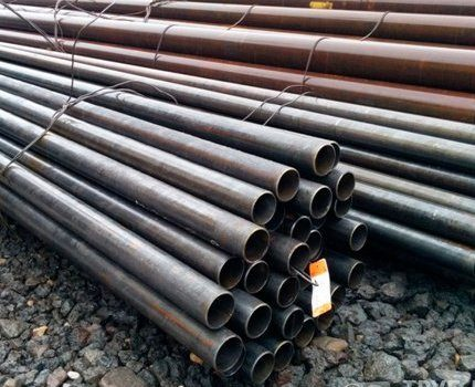 Marquage des tuyaux en acier
