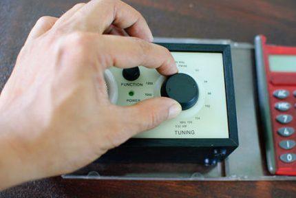 No uztvērēja izgatavots metāla detektors