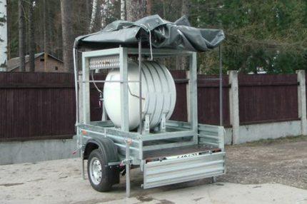Réservoirs de gaz mobiles de petit volume