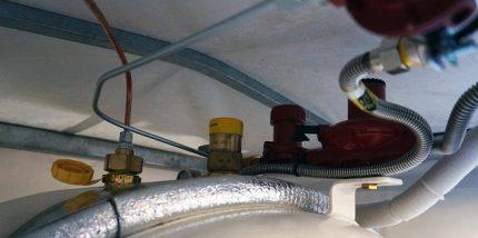 Équipement de réservoir de gaz mobile