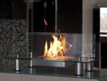 Outdoor biofireplace option