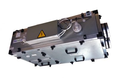 Node 1 Exhaust Unit with Recuperator Plate from Naveka