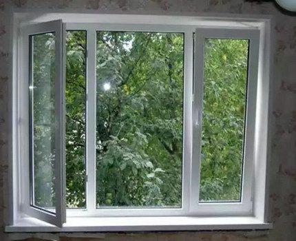 Ouvrez la fenêtre lorsque vous travaillez avec du gaz
