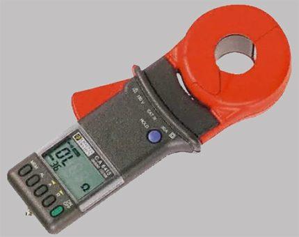 Instrument C.A6415 pour mesurer la résistance de terre