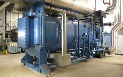 Réfrigérateur industriel à absorption