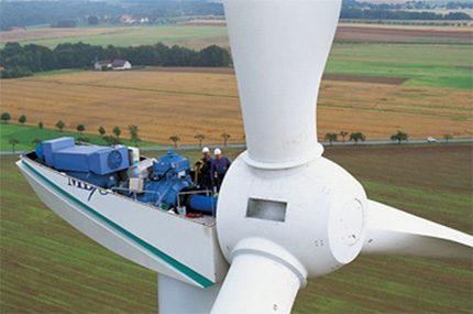Vėjo malūno galios apskaičiavimas