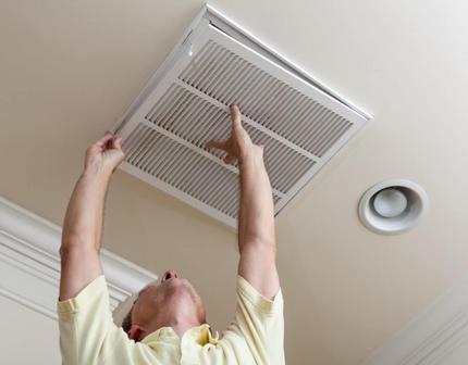 Remplacement de la grille de ventilation