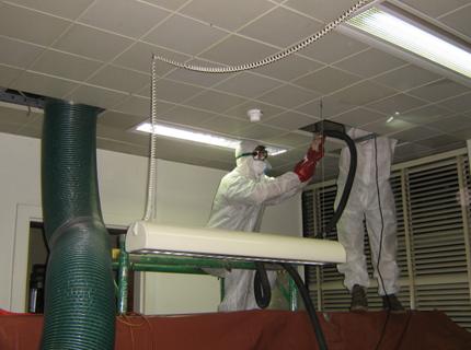 Réparation du système de ventilation par des spécialistes