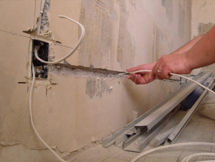 Elektroinstalācijas remonts