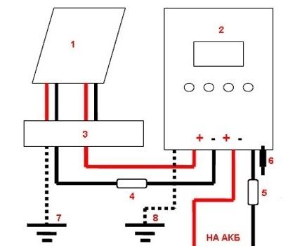 MPPT Connection Diagram