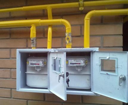 Gas connection procedure