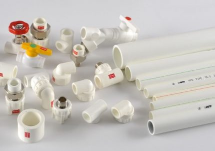 Polypropylene pipes and accessories
