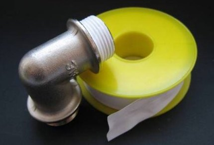 Ruban de fumée pour valve de gaz