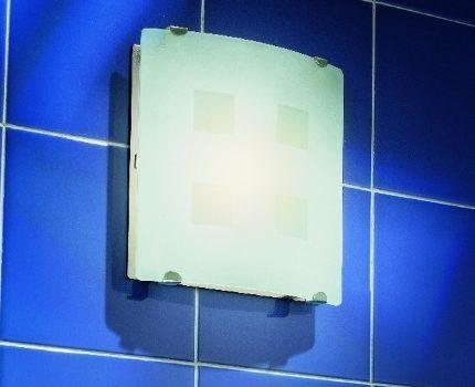 Backlit fan