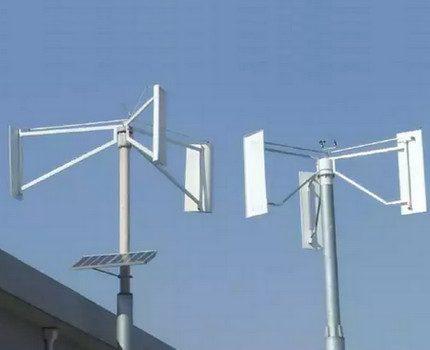 Household models of wind generators