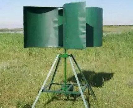 Rotor type wind generator