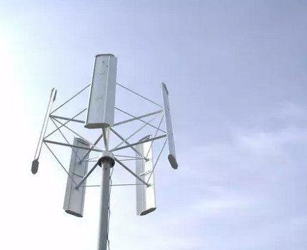 Orthogonal rotor wind generator