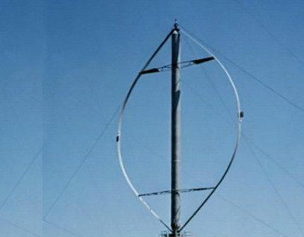Wind generator with Daria rotor