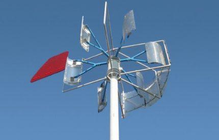 Vertical wind generator