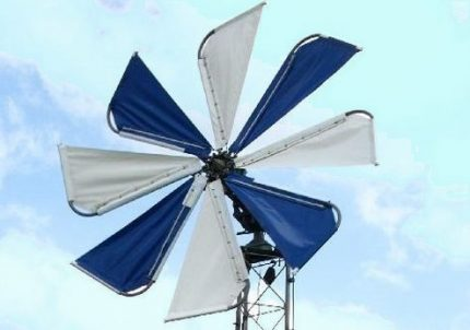 Sailing type wind generator