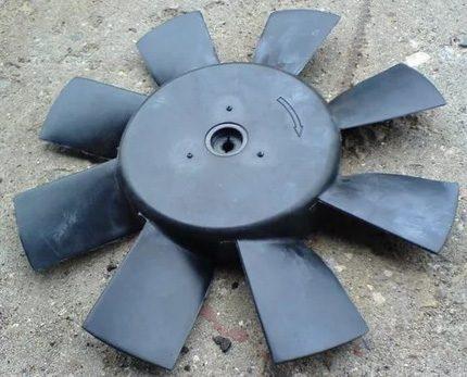 Car impeller for windmill