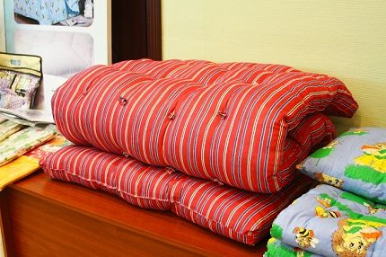 Old grandmother's mattress