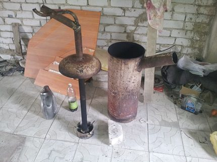 Homemade Garage Oven