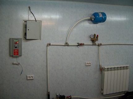 Système de chauffage d'eau local