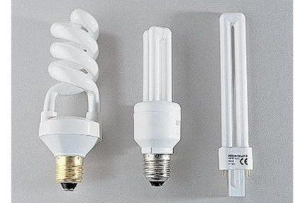 Lampes à économie d'énergie