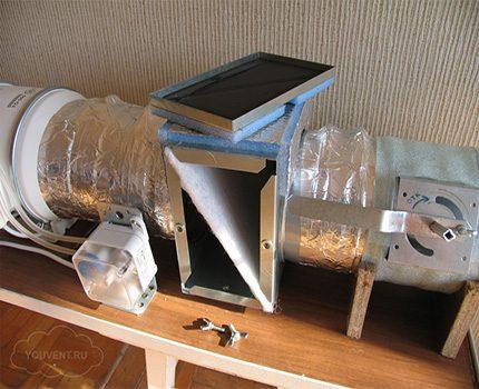 Pieplūdes gaisa filtrs